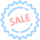 banner, buy, discount, sale, sticker, tag icon