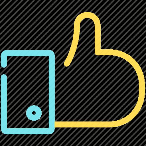 best, finger, good, like, mark, social network icon