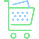 buy, cart, market, shop, shopping cart, shopping trolley icon