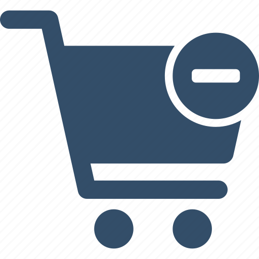 basket, buy, cart, remove, shop, shopping, trolley icon