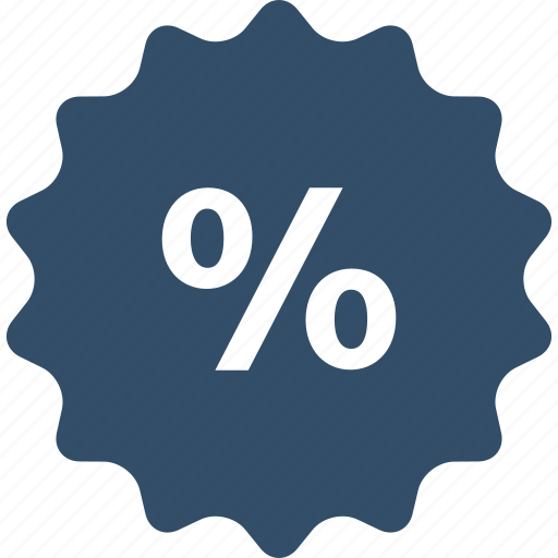 discount, label, percent, sale, shop, shopping, store icon