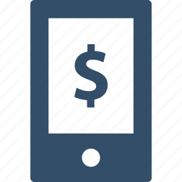 cell, dollar, ecommerce, phone, sale, shop, shopping icon