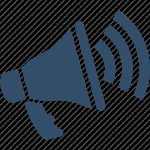 advertising, announcement, communication, loudspeaker, megaphone, notice, shopping icon