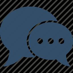 ballon, bubble, chat, communication, conversation, shopping, talk icon