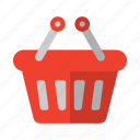 basket, shopping, shopping icon icon