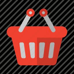 basket, shopping, shopping icon icon