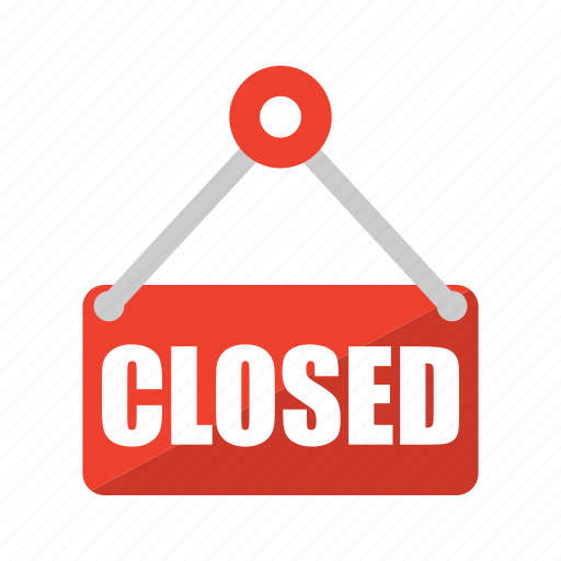 closed, online, shop, shopping icon icon