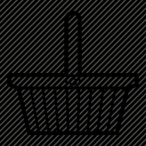 basket, business, buy, shopping, shopping basket, store, supermarket icon