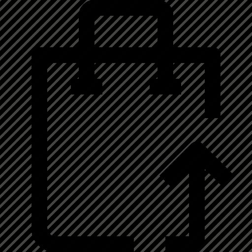 arrow, bag, business, buy, ecommerce, market, marketplace, shop, shopping, uo icon