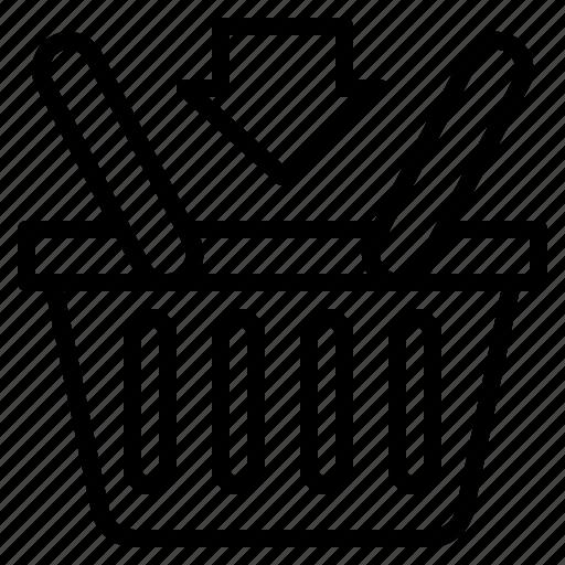 basket, buy, ecommerce, purchase, shop, shopping icon