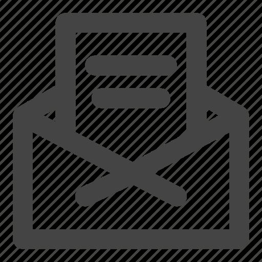 bill, bills, document, envelope, inbox icon