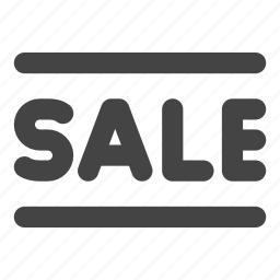 ecommerce, label, offer, sale, shopping icon