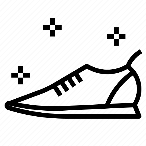 shoes, sneakers icon