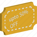 discount, discount tag, offer, percenatage, percent, sale, shopping voucher icon