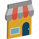 market, market store, retail shop, shop, shopping store, store, super store icon