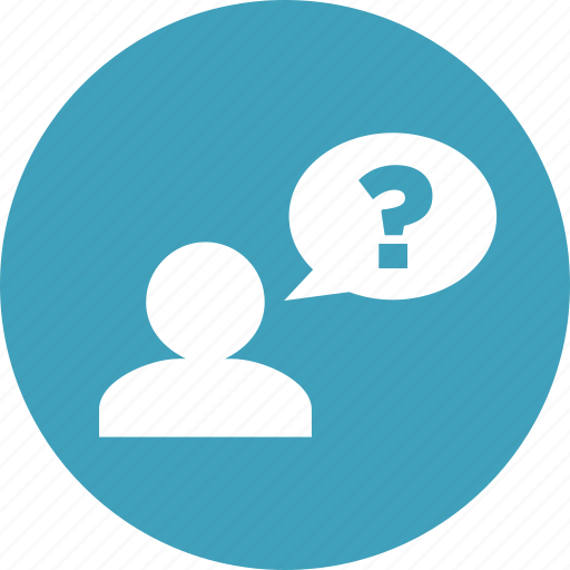 ask, customer service, help, information, question, support icon