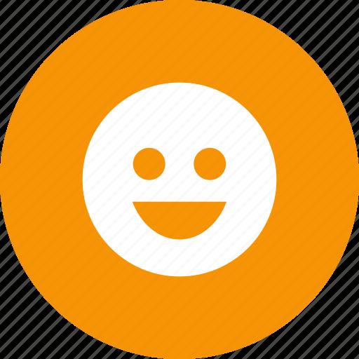 emoji, emotion, face, happy, laugh, like, smile icon