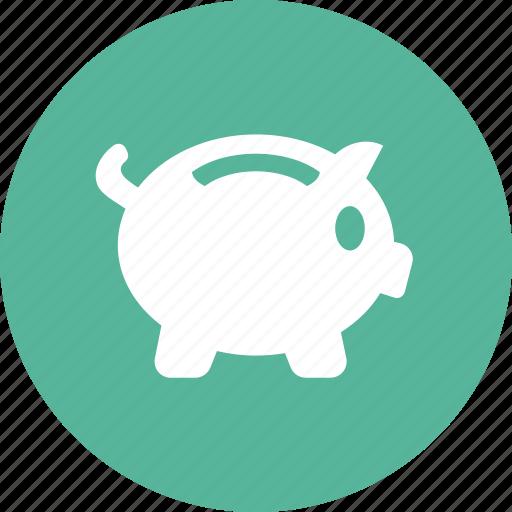 bank, deposit, investment, money, piggy, savings icon