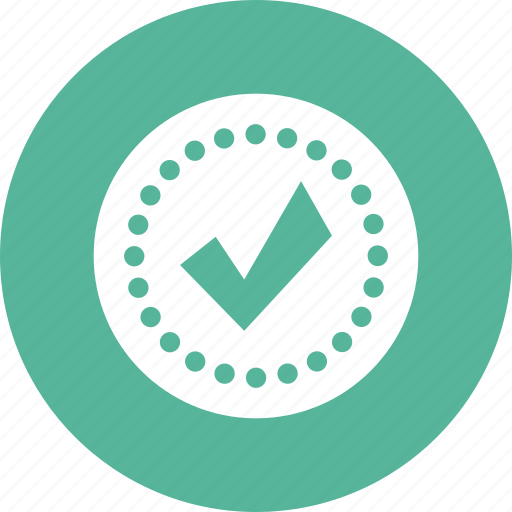 accept, approved, check, confirm, security, success icon