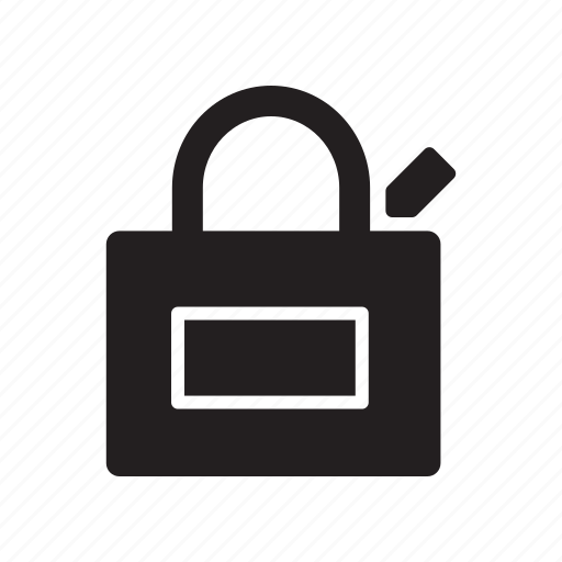 bag, ecommerce, edit, pen, shopping icon