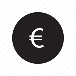 coin, currency, euro, europe, shopping icon