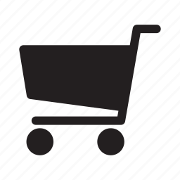 cart, push, shopping, wheels icon