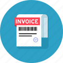 amount, bill, invoice icon
