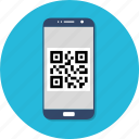phone, qr, smartphone icon