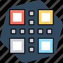 barcode, matrix barcode, qr code, quick response code icon