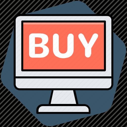 buy online, e commerce, online shopping, online store icon