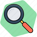 magnifier, magnifying glass, search, search web, searching icon