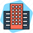 building, market, mart, plaza, shopping center icon