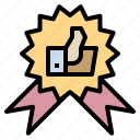 award, best, medal, recommended, seller icon
