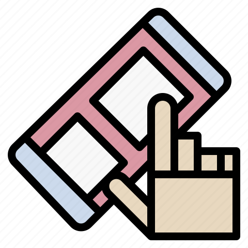 Buy, click, hand, smartphone, tap icon - Download on Iconfinder