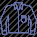 clothes, formal, garments, men, shirt, shopping, wear icon