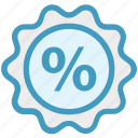 discount, percentage, percentage sign, shopping, sign icon