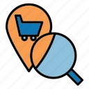 business, online, product, search, shop, shopping icon