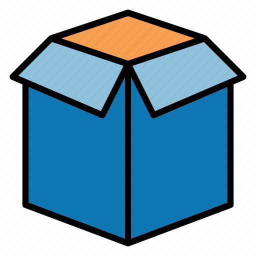 box, ecommerce, package, shopping icon
