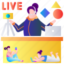 feedback, live, online, product, ranking, rating, review icon