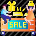 discount, person, sale, shop, woman, shopping