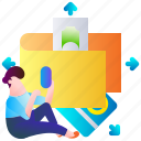 business, cash, money, pay, payment, shopping, wallet icon