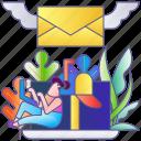 email, internet, letter, mail, message, newsletter, web