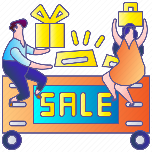 discount, person, sale, shop, shopping, woman icon