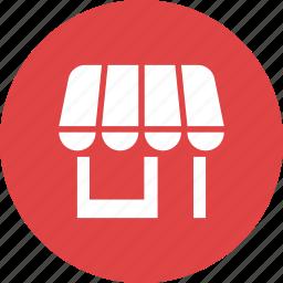 building, market, merchant, retail, shop, store icon