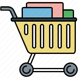 buy, cart, full, online, shop, shopping icon