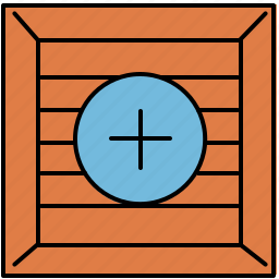 add, crate, insert, new, shopping icon