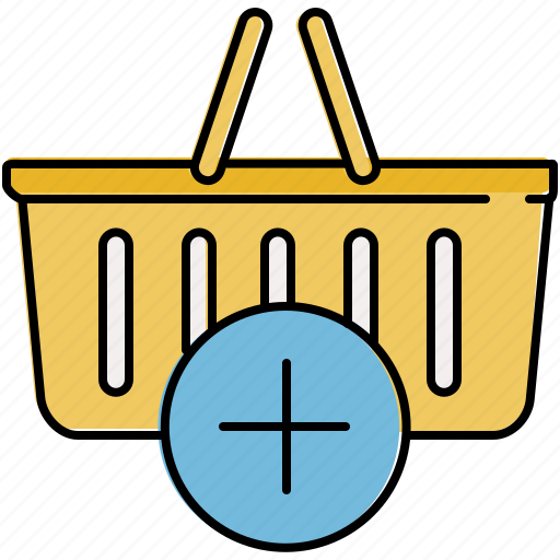 add, basket, buy, insert, new, shop, shopping icon