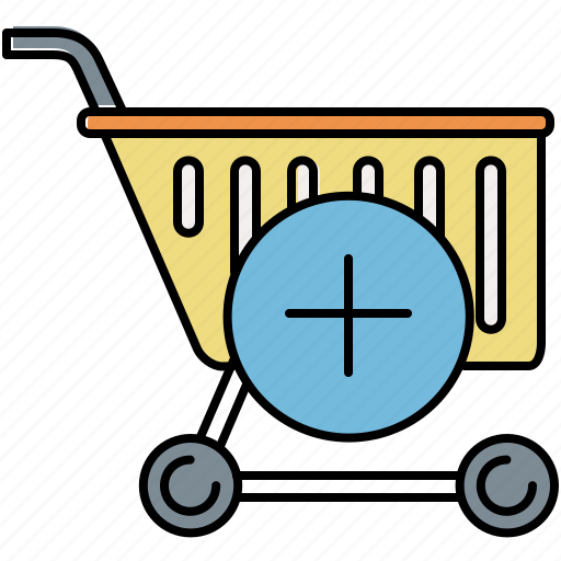 add, buy, cart, insert, new, shop, shopping icon