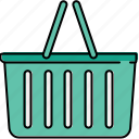 basket, buy, empty, online, shop, shopping icon