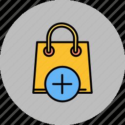add, bag, buy, new, shop, shopping icon